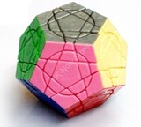 Full Function Crazy Megaminx Plus in 12-Solid-Color (Mod)