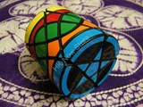 Barrel Megaminx Black Body (AJ MOD)