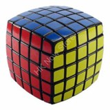 5x5x5 Pillow-shaped Black Cube