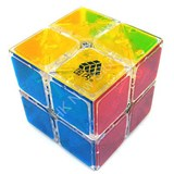 Type C WitTwo I 2x2 Clear Cube for Speed Cubing