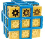 Sun-Flower 3x3x3 Black Hole Cube Yellow Body