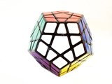 ShengShou Megaminx for Speed Cubing Black Body