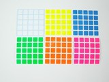 5x5x5 Bright Set (High Quality PVC Stickers)