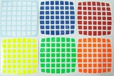 7x7x7 Half-Bright Set (High Quality PVC Stickers)