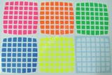 7x7x7 Bright Set (High Quality PVC Stickers)