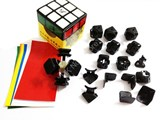 Fangshi(Funs) Shuang Ren cube V.2 Black Body DIY Kit for Speed-cubing (57 X 57mm)