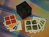 Now Store DIY 2x2x2 Black Cube w/ Stickers Set (x2)