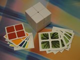 Now Store DIY 2x2x2 White Cube w/ Stickers Set (x2)