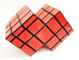 Mirror Double cube black body (Red Stickers)