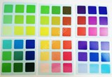 Rainbow Color Stickers Set