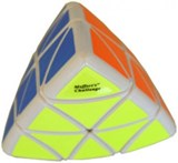 Pillow Pyraminx White Body