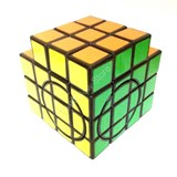 Calvin's 3x3x5 Super Trio-Cube with Evgeniy logo Black Body