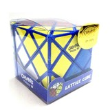 Okamoto & Greg Lattice Cube Blue Body (4-Color) in Small Clear Box