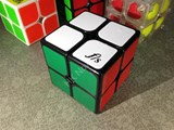 Fangshi(Funs) ShiShuang 2x2 in Black Body (55x55mm, sticker version)