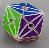 Evil Eye II (Open-eye) Dodecahedron White Body