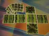 3x3x3 Arbuz (Watermelon) Cube Stickers Set
