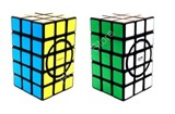 Calvin's 3x3x5 Semi-Super Cuboid (opposite circles) with Evgeniy logo Black Body