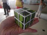 Now Store 2x2x2 Watermelon White Cube