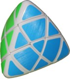 Master Pyramorphinx - White body with Fluorescent Labels