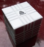 Full Function 3x3x9 RoadBlock II Cube White Body