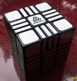 Full Function 3x3x9 RoadBlock II Cube Black Body