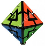 Pyraminx Diamond 4 colors Black