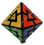 Pyraminx Diamond 8 colors Black