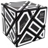 Ghost Cube with hollow label (Black)