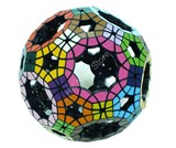 Void Truncated Icosidodecahedron (pre-assembled & stickered)