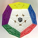 QiYi Galaxy Megaminx 12 solid color Body for Speed-cubing (sculpture)