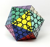 Clover Icosahedron D1 Black Body
