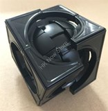Deformed 3x3x3 Centro-Sphere Cube Black Body (with no stickers)
