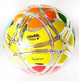 Traiphum Megaminx Ball Metallized Silver with 6 Color stickers (Limited Edition)
