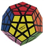 New Improved 12 color Megaminx For Speed-cubing Black Body, in POLY BAG