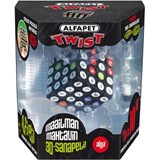 Alfapet Twist / SCRUBLE Cube GAME SET (Limited Quantity)