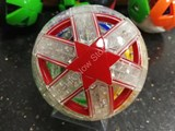 Dayan 12-Axis Puzzle Ball V4 - 4 color and clear body