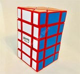 Corey 3x3x5 Fisher Cuboid Red Body in Small Clear Box