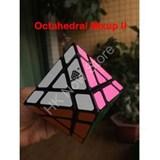 WitEden Octahedral Mixup II Black Cube