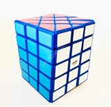 Calvin's 4x4x5 Fisher Cuboid (center-shifted) Blue Body in Small Clear Box
