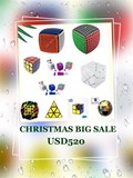 Christmas Big Sale US$520 Package (Save US$228.99, LAST ONE!)