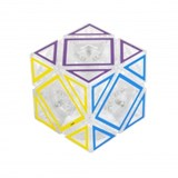 HOLLOW Skewb Cube Clear (pre-order)