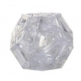 Hollow Skewb Ultimate Clear (stickerless) (pre-order)