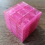 Full Function 3x3x9 I Cube Clear Pink