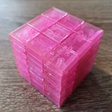Full Function 3x3x9 II Cube Clear Pink