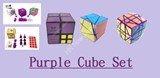 Purple Cube Set Big Sale US$130 Package (Save US$22.95)