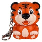 Mini Tiger 2x2x2 Keychain