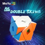 Moyu MFJS Meilong Double Skewb Cube Stickerless