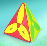 Qiyi Clover Pyraminx Stickerless