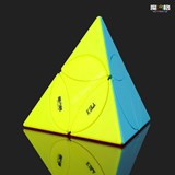 Qiyi Disc Pyraminx Stickerless