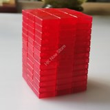 Full Function 3x3x13 I Clear Red Cube